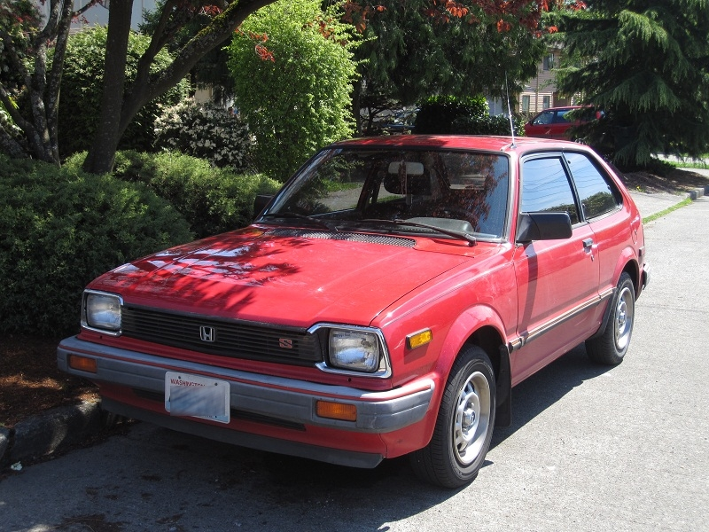 Seattle's Parked Cars: 1983 Honda Civic 1500S