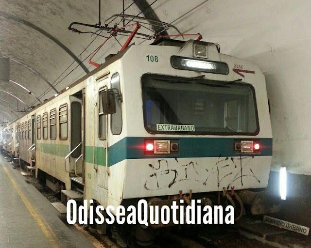 """Ferrovia Roma Nord, ultima corsa cancellata: """"Tratta isolata"""""""