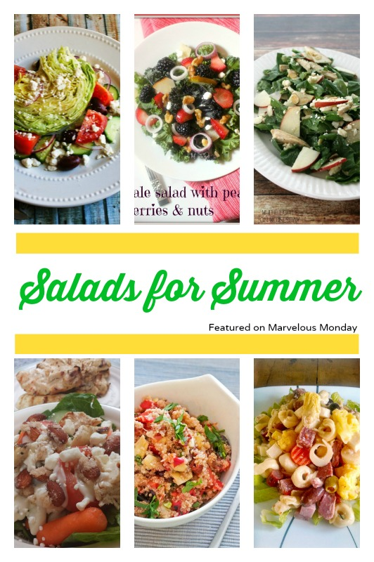 Salads for Summer | Cooking on the Front Burner #MarvelousMonday #SummerSalads