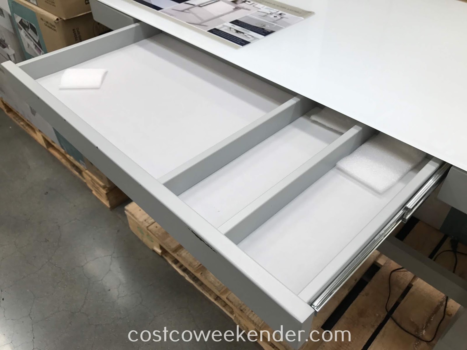 Tresanti Adjustable Height Desk Costco Weekender