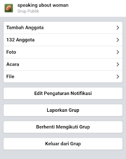 Cara Keluar Dari Group Facebook Termudah