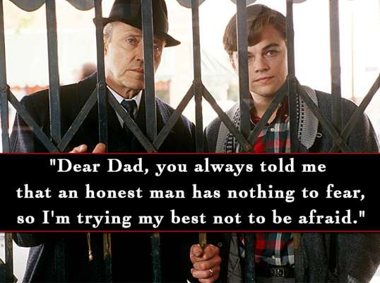 Catch Me If You Can Movie Inspiring Images Quotes And Sayings