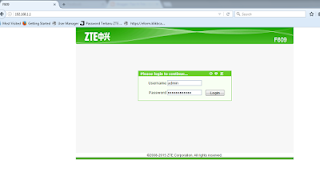 Cara Setting Modem FO ZTE F609 Menjadi Access Point