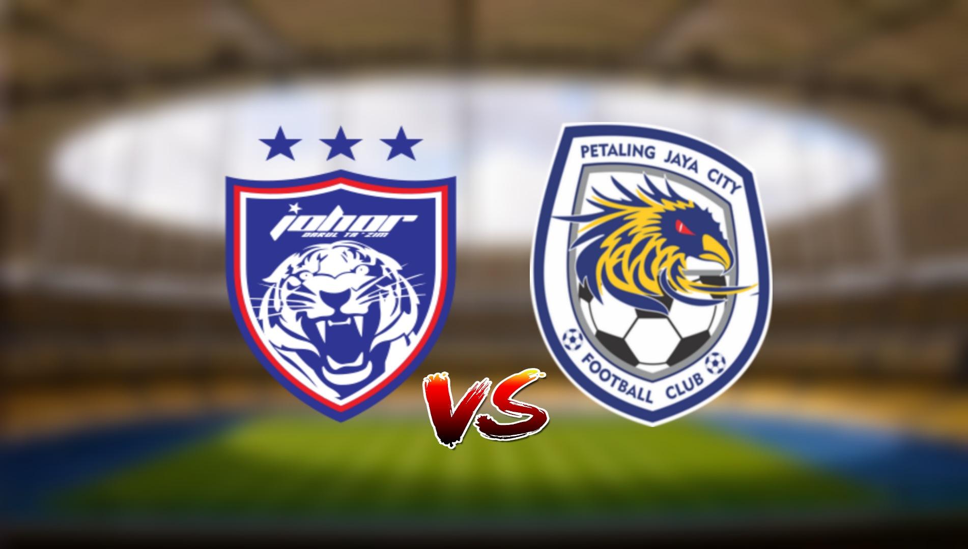 Live Streaming JDT FC vs PJ City FC Liga Super 10.4.2021