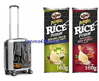Logo Concorso ''Vinci e viaggia con Pringles Rice Fusion'' : in palio Trolley Ciack Roncato e 2500 euro in buono viaggio