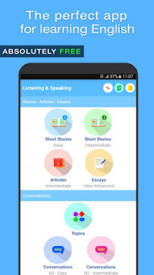 English Listening & Speaking App