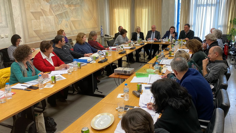 Σύσκεψη στην Περιφέρεια ΑΜ-Θ υπό την Υπουργό Πολιτισμού για την ανάδειξη των μνημείων της Αν. Μακεδονίας και Θράκης