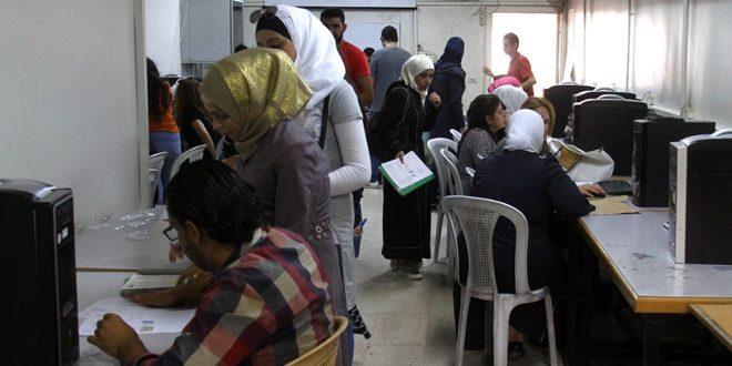 تحديث ~ إعلانات مفاضلة القبول الجامعي للعام الدراسي 2021-2022 الفرع العلمي والادبي والمهني - صدرت نتائج مفاضلة البكالوريا 2021 - 2022 في سوريا الان