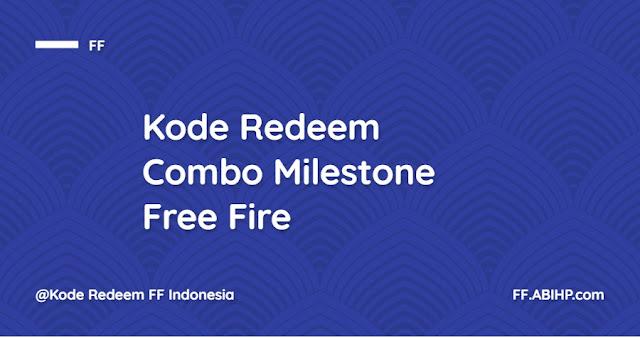 Capai Target Combo Milestone Free Fire di IG 1M dan Youtube 750K 1