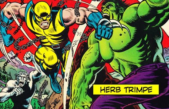 En la portada Incredible Hulk 181 peleando contra Hulk