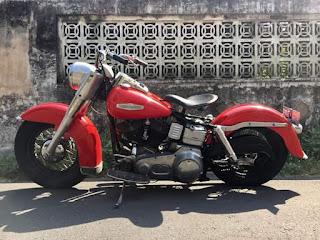 Dijual Harley Davidson, shovelhead 1970 (electraglide)