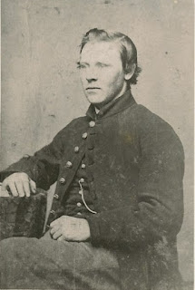 Portrait of William Elliot in a Union Army uniform