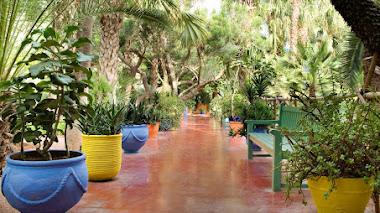 Jardín Majorelle en Marrakech, la obra más bella del pintor Jacques Majorelle