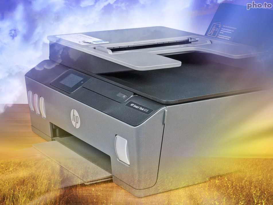 HP Smart Tank 615 Inkjet MFP Review with Integrated Ink Tanks