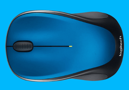 Best mouse under INR 500 - Logitech M235 Wireless Mouse
