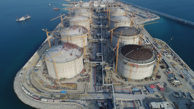 #Kuwait Aims to Finish Mideast's Biggest LNG Terminal by March - Bloomberg