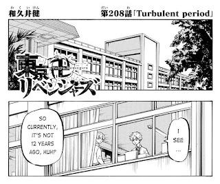Read Tokyo Revengers Manga Chapter 208 English