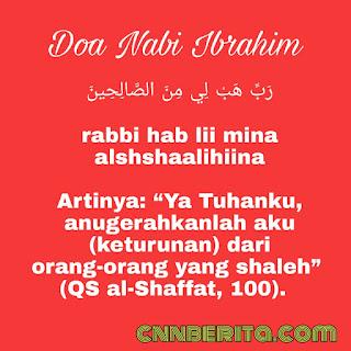 Doa Nabi Ibrahim meminta keturunan