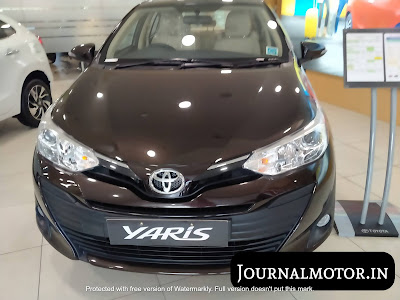 Toyota Yaris price