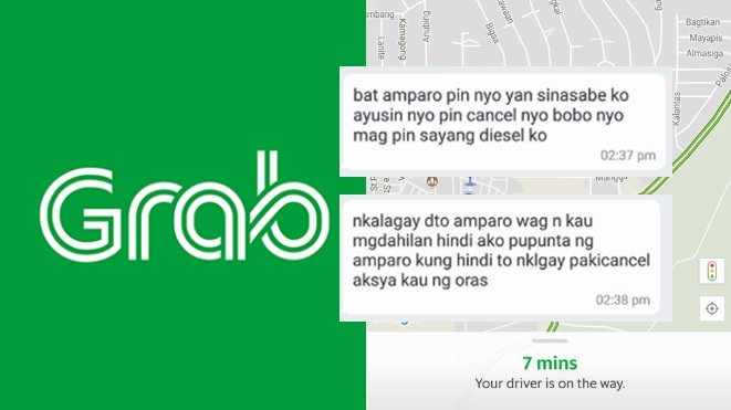 "Teacher shares bad experience with Grab driver who called him ""bobo"""