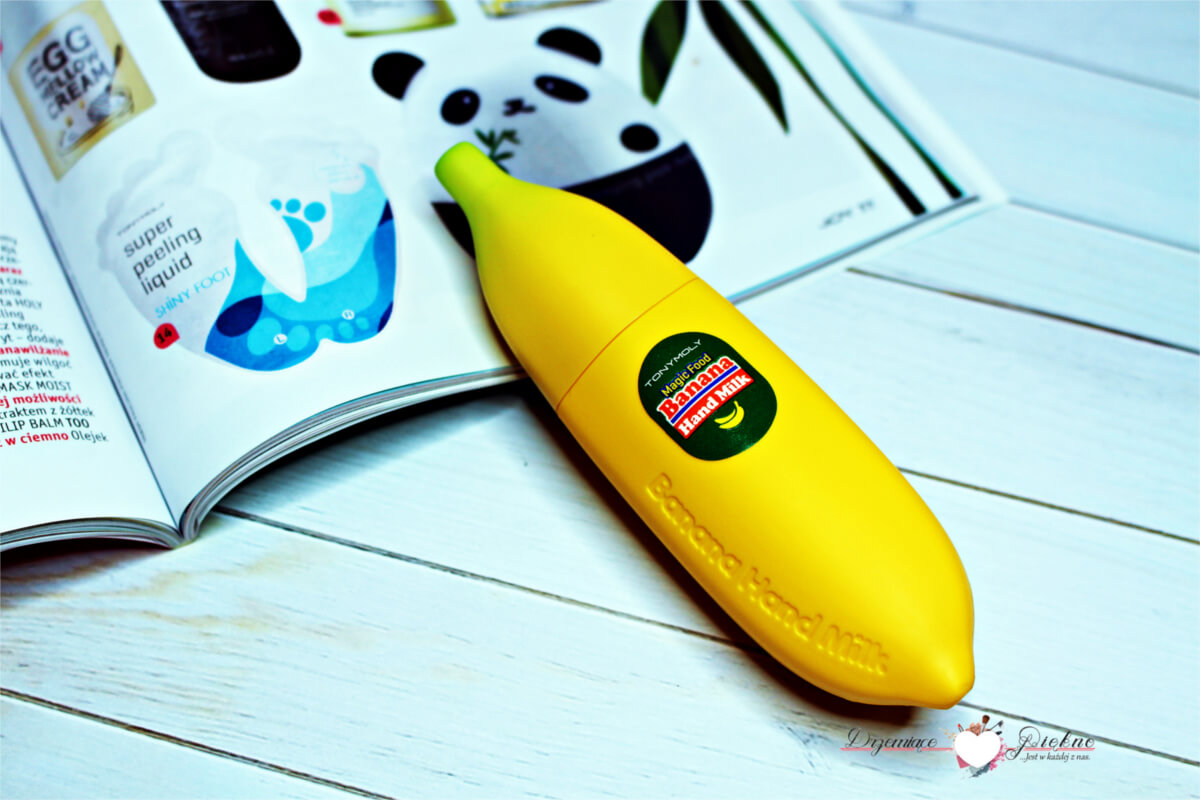 Tony Moly Magic Food Banana Hand Milk Krem do rąk