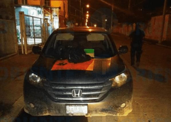 Imagenes del terror: Sicarios de El Marro dejan cabeza humana con narcomensaje en Celaya: Guanajuato