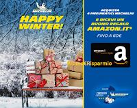 """Michelin """"Happy Winter"""" : ricevi come regalo certo un buono Amazon da 40 euro o da 60 euro !"""