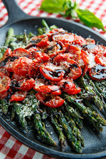 roasted asparagus with balsamic vegetarian asparagus recipe