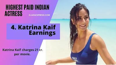 Katrina Kaif Earnings per Month