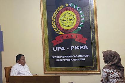 Drs Syafrial Bakri, SH.,MH. Bersama Klien