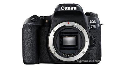 تسريبات جديدة لكاميرا كانون Canon EOS 77D