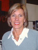 Betsy DeVos at the Houghton County Republican Victory Center in 2005 (Keith A. Almli)