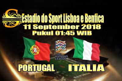 JUDI BOLA DAN CASINO ONLINE - PREDIKSI PERTANDINGAN UEFA NATIONS LEAGUE PORTUGAL VS ITALIA 11 SEPTEMBER 2018