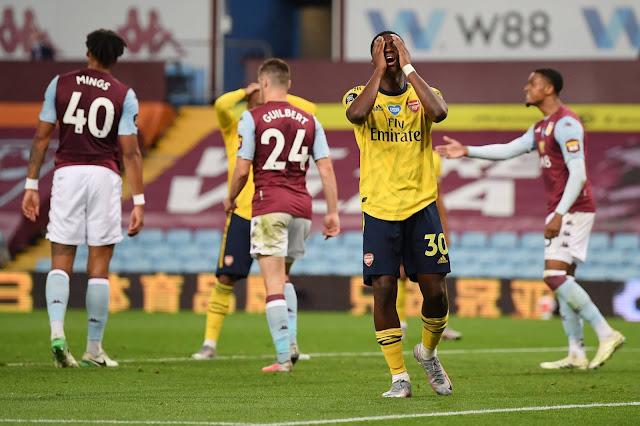 Aston Villa vs Arsenal at Villa Park this Saturday at K24 TV Epl Maskani
