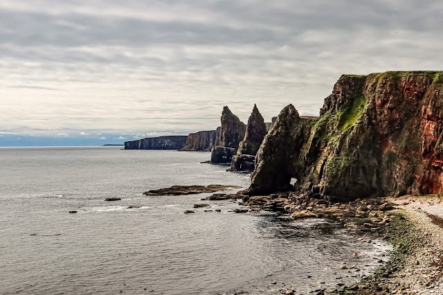 Scotland by Rail part 3, John O'Groats is inspiring, The Duncanby Stacks, Mandy Charlton Photographer