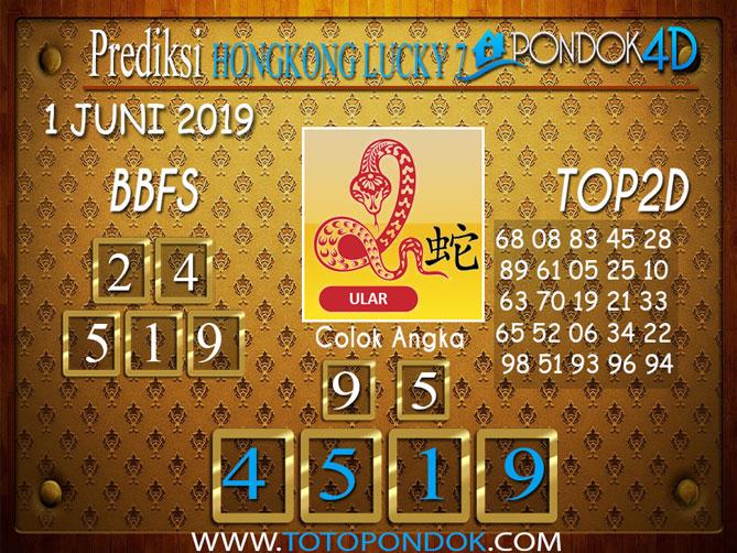 Prediksi Togel HONGKONG LUCKY 7 PONDOK4D  1 JUNI 2019