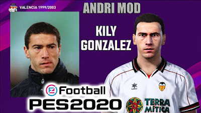 PES 2020 Faces Killy Gonzalez by Andri Mod
