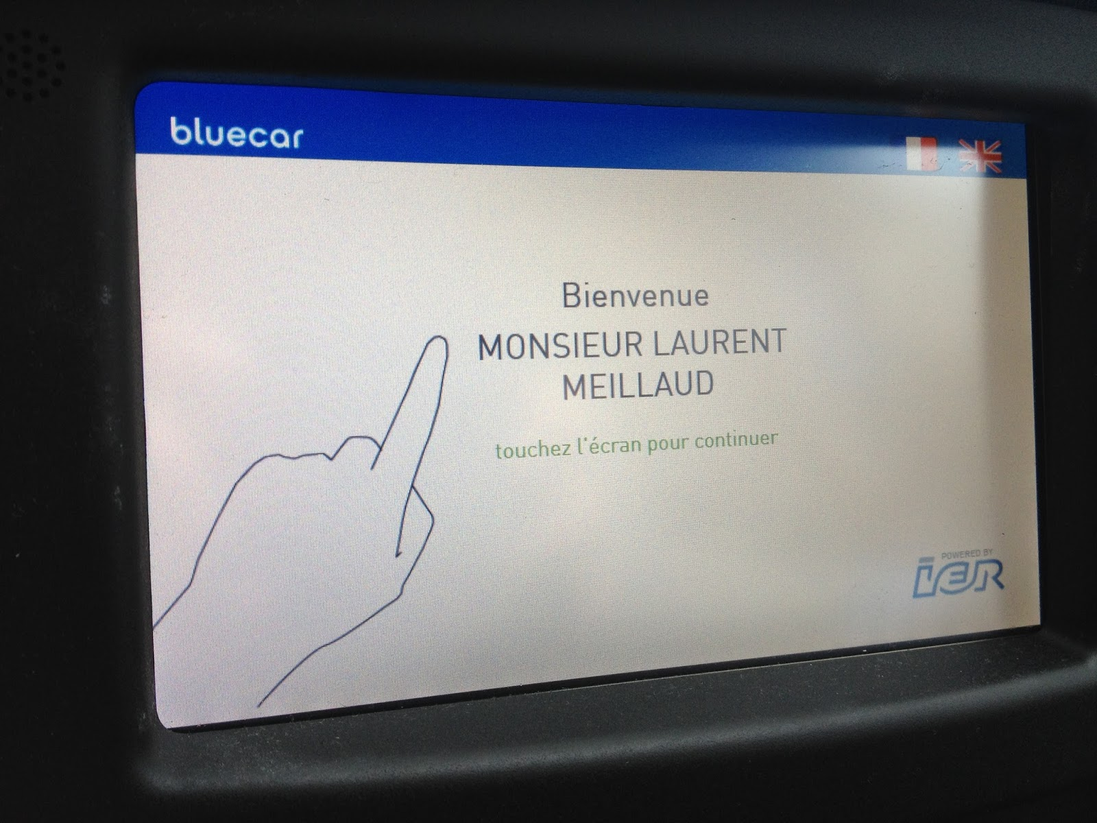 verrouiller écran tactile