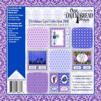 "Christmas Card 6"" x 6"" Collection 2016"