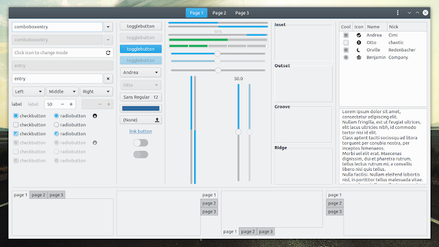 Breeze Gtk theme