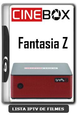 Cinebox Fantasia Z Melhorias no IKS Nova Atualização - 11-01-2020