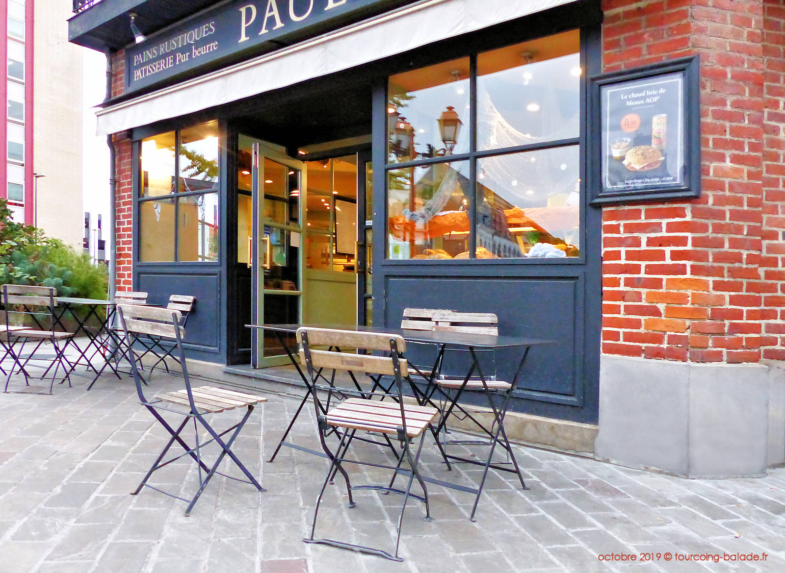 Paul - Terrasse rue St-Jacques, Tourcoing.