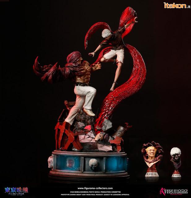 "Figuras: Imágenes de Kaneki vs Jason Elite Fandom de ""Tokyo Ghoul"" - Figurama Collectors"