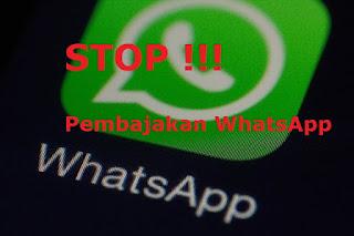 Bebas dari Pembajakan, Ini Trik Amankan Akun Whatsapp