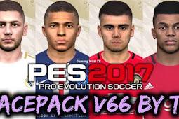 New Facepack V.66 For - PES 2017