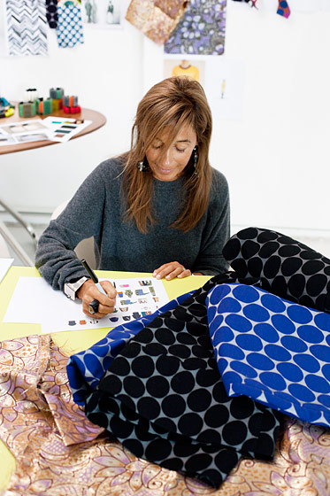 Consuelo-from-Marni-works-on-some-prints