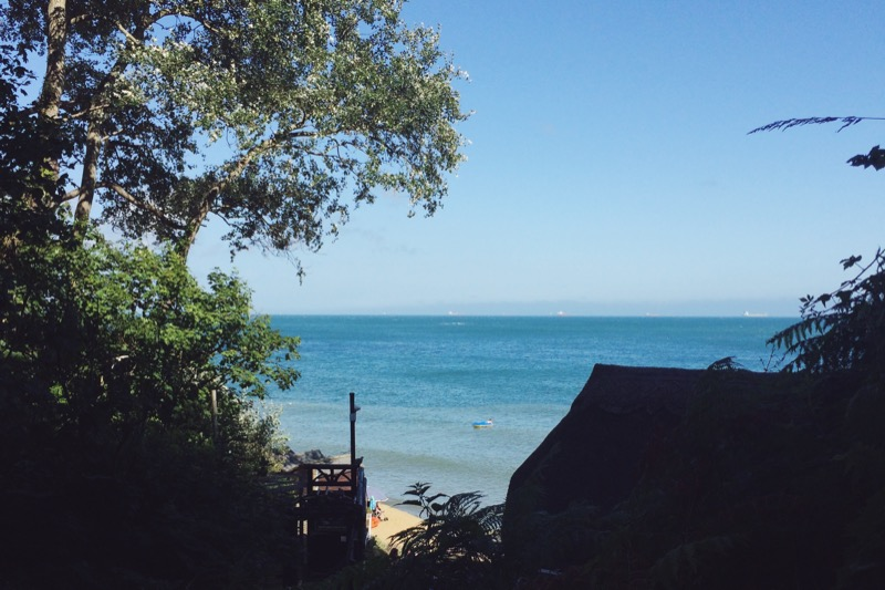 Isle of Wight, Shanklin Chine, things to do on Isle of Wight, travel blogs UK, UK lifestyle bloggers