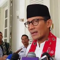 Sandiaga Uno Mundur dari Ketua Tim Pemenangan Gerindra