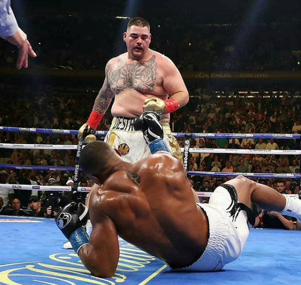 Andy Ruiz Demands £40m For A Rematch With Anthony Joshua