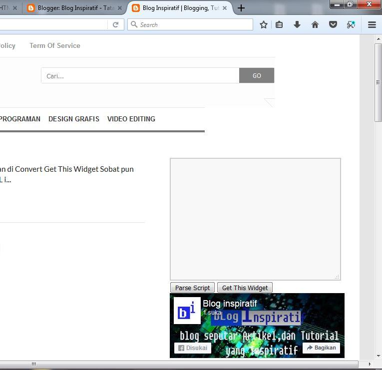 Cara Memasang Halaman Fanspage part08